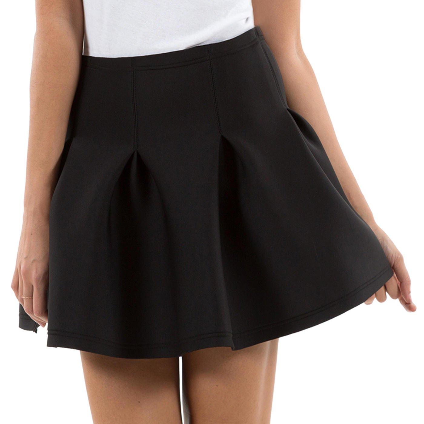 Collant noir jupe noire