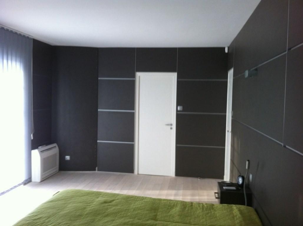 Emejing Amenagement Placard Chambre Sur Mesure Photos Design  # Agencement Meuble Mural Design