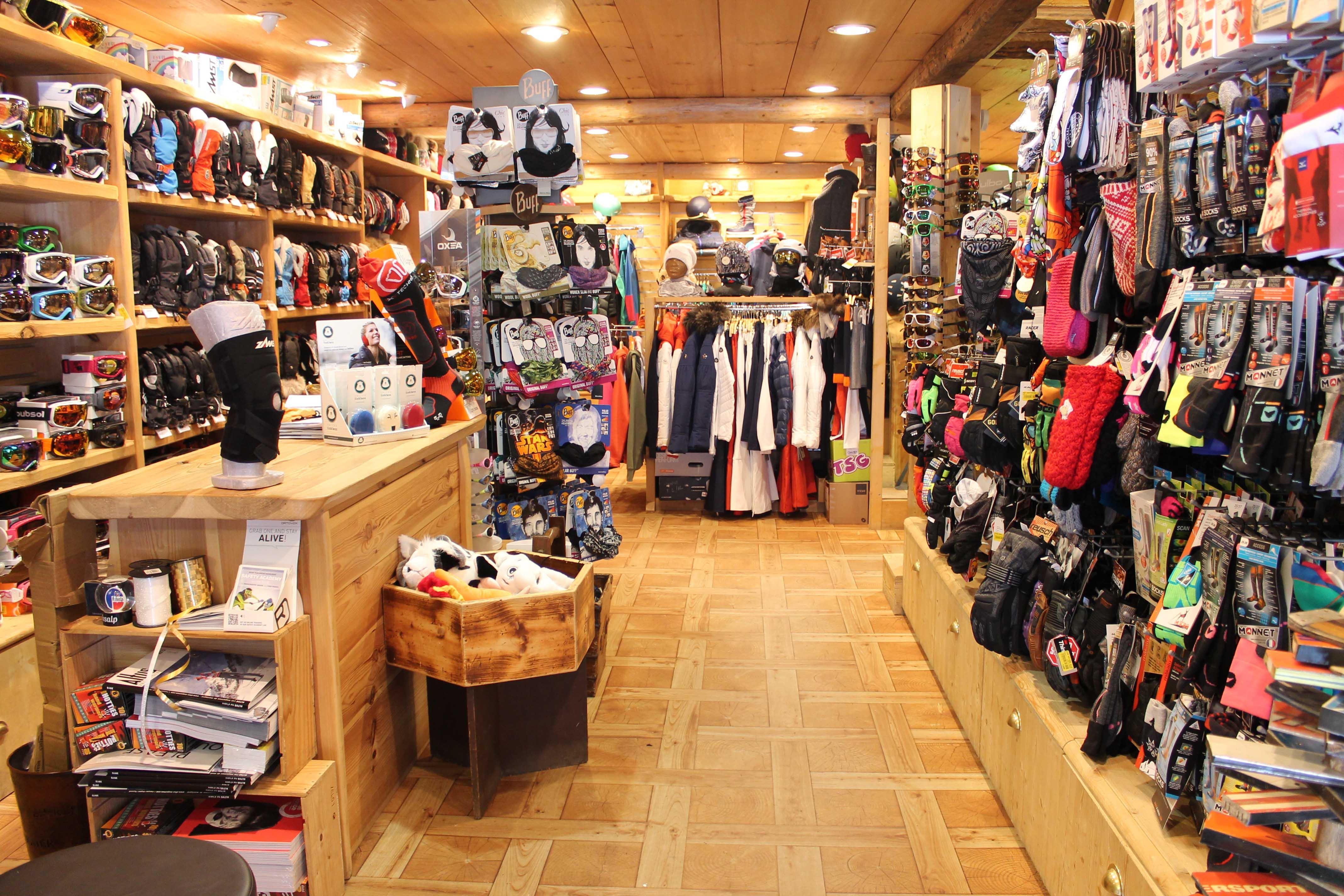 Une toute nouvelle tenue grâce à ce magasin de ski