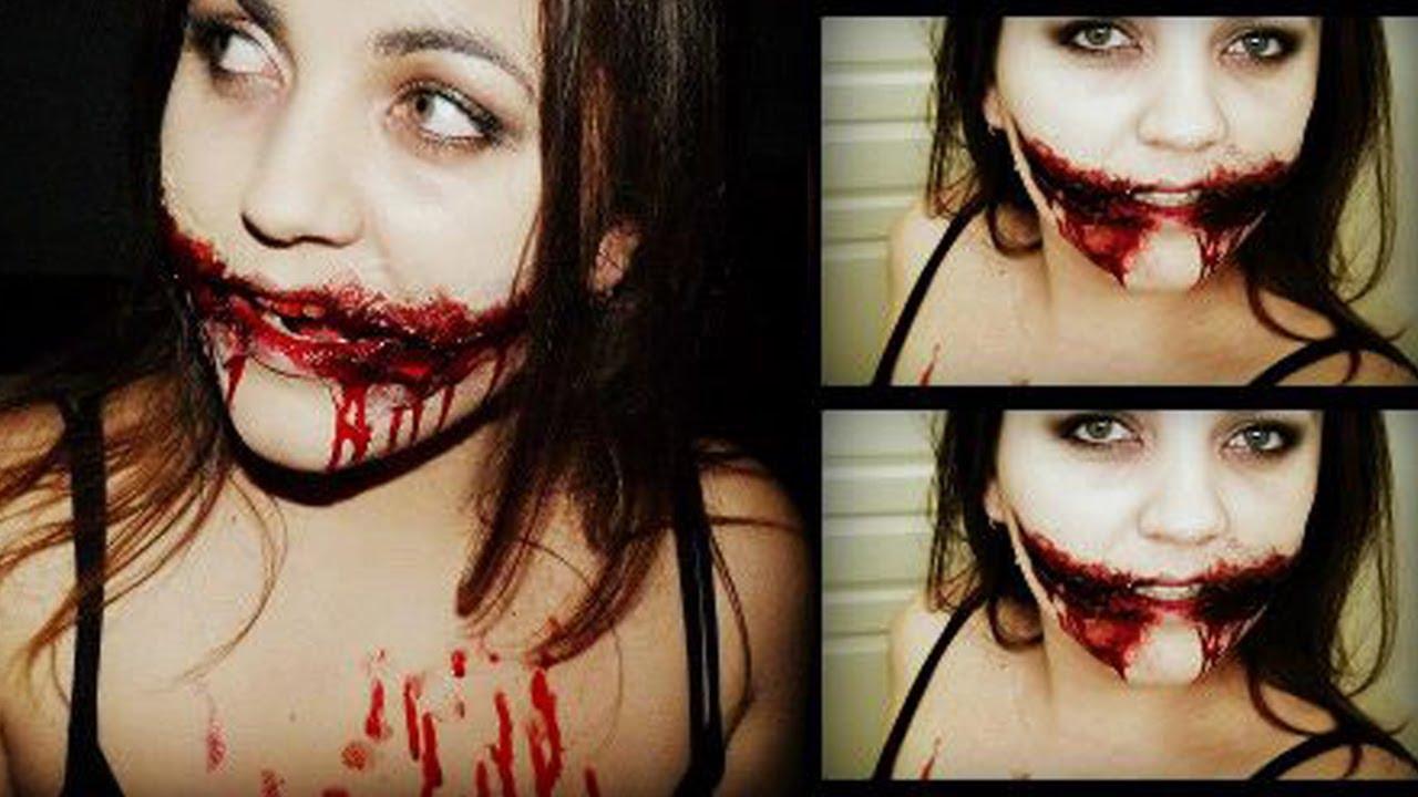 Tuto maquillage halloween