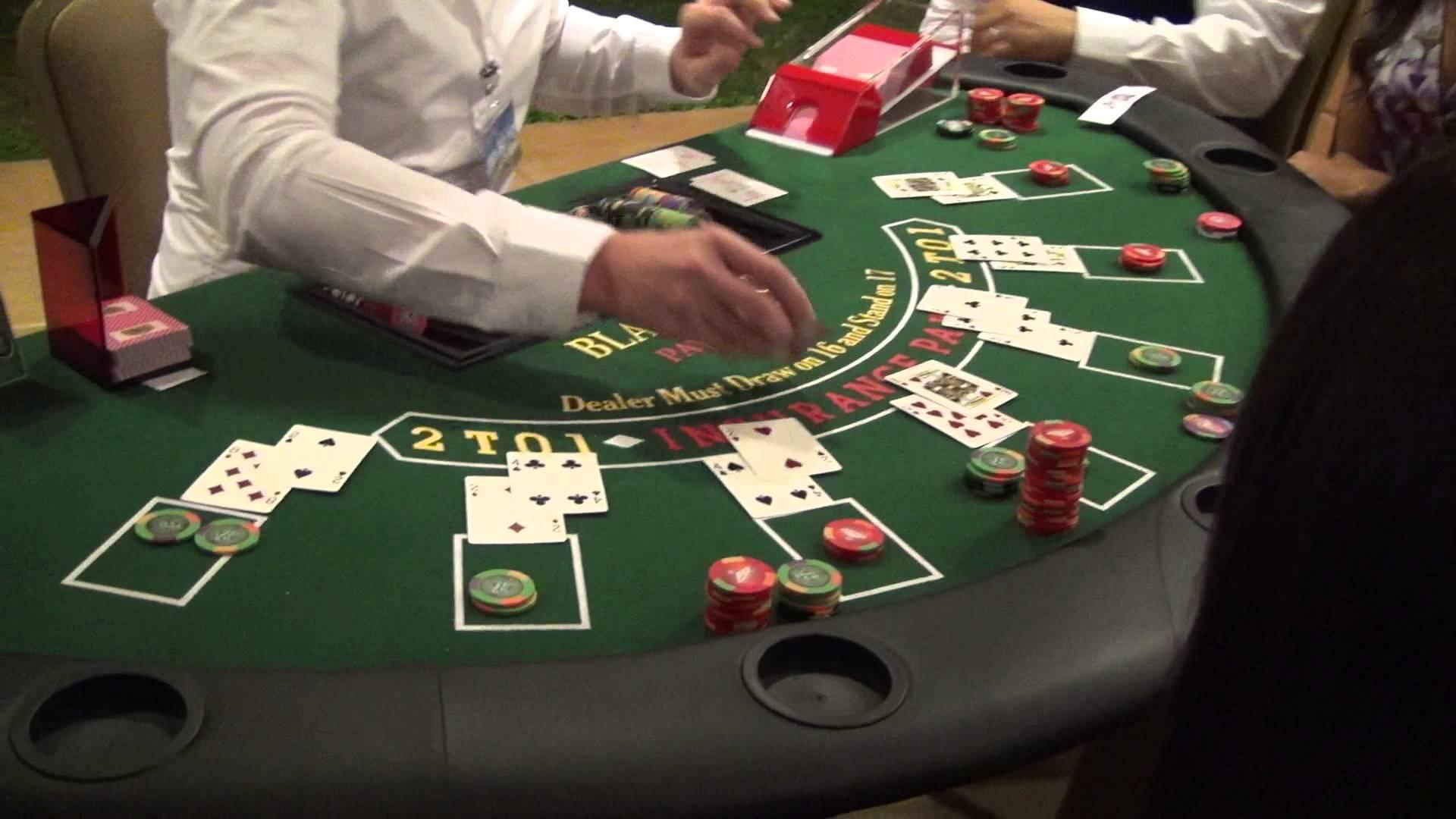Blackjack, je joue et je remporte la mise